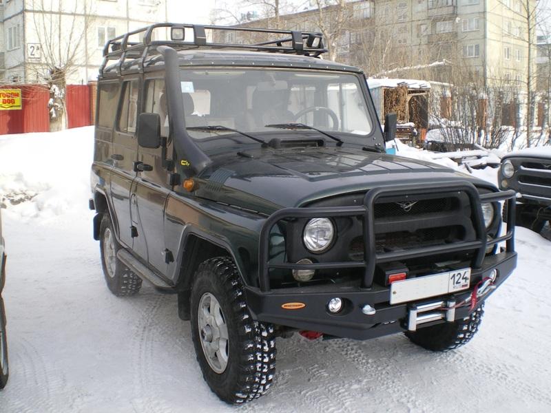 Уаз 469 бампера