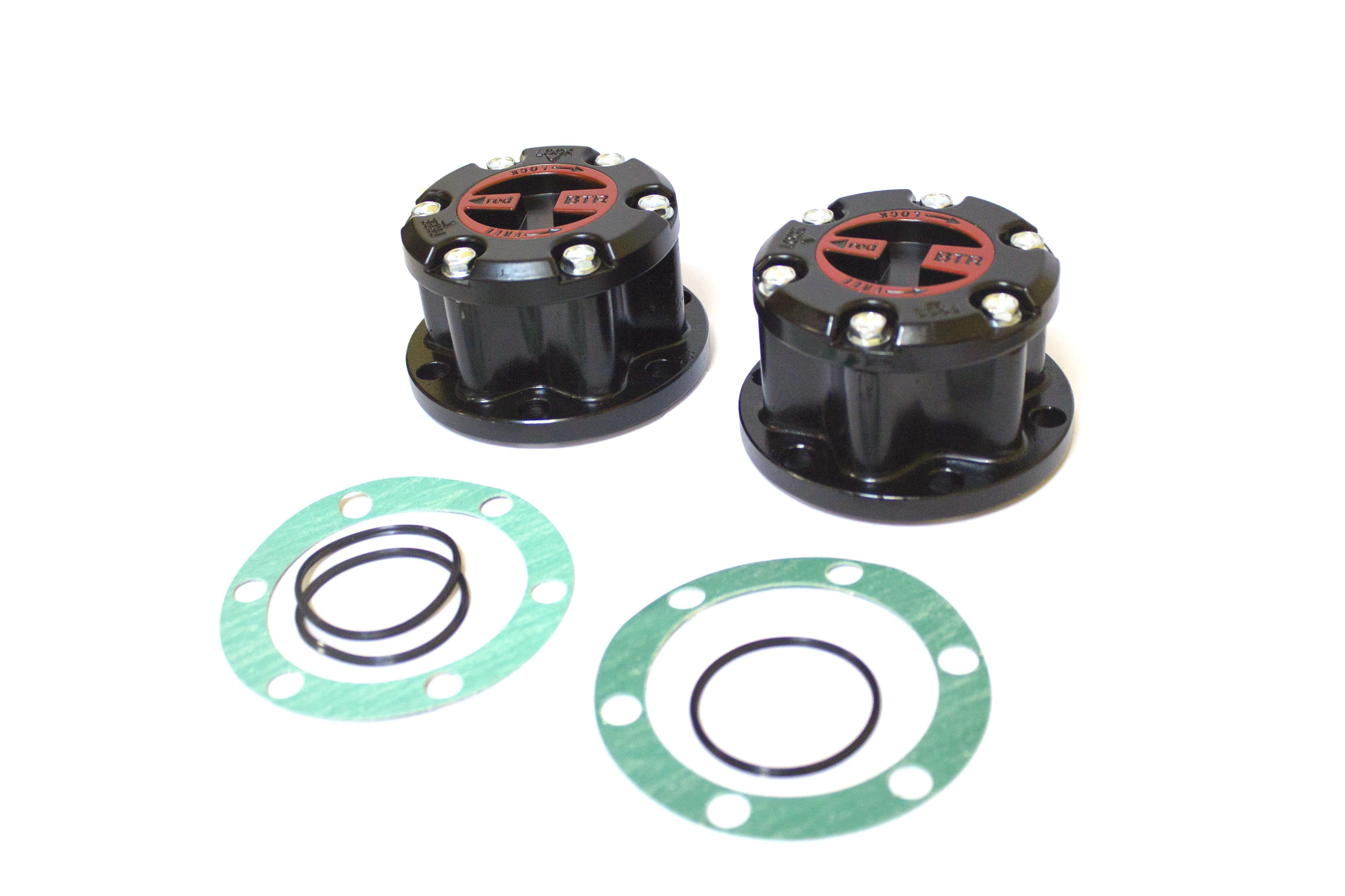 Комплект муфт включения полуоси (хабов) для автомобиля уаз производства компании redbtr
