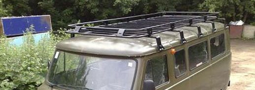 Экспедиционные багажники для уаз своими руками 91